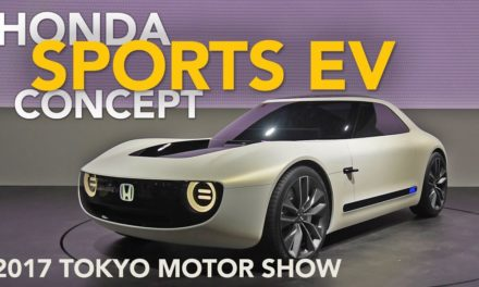 Honda Sports EV Concept First Look – 2017 Tokyo Motor Show