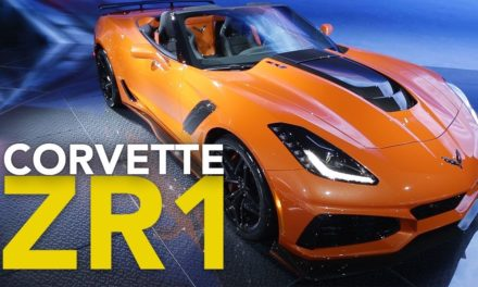 2019 Chevrolet Corvette ZR1 and ZR1 Convertible First Look: 2017 LA Auto Show