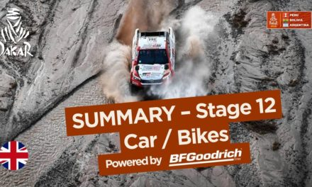 Summary – Car/Bike – Stage 12 (Fiambalá / Chilecito / San Juan) – Dakar 2018