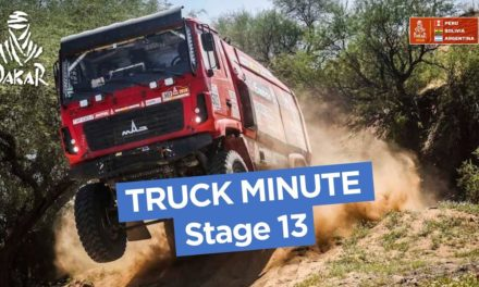 The Truck Minute – Stage 13 (San Juan / Córdoba) – Dakar 2018