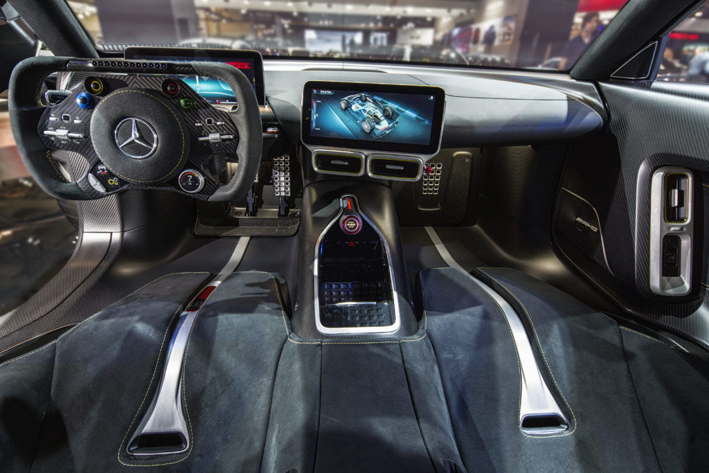 Mercedes Amg Project One At The 2018 Canadian International Autoshow