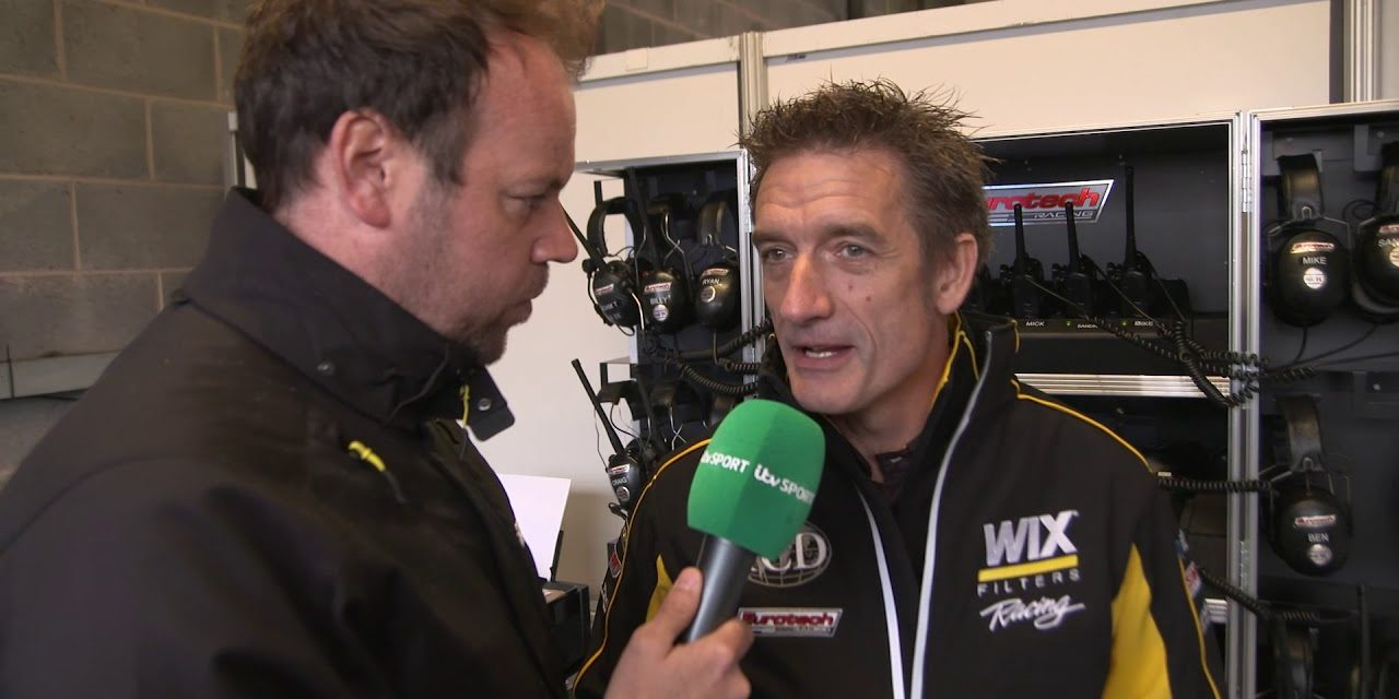 Boom! WIX Racing with Eurotech boss Jeff Smith | Donington Park | BTCC 2018