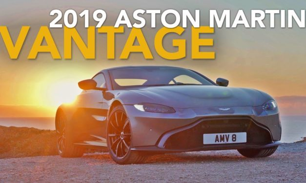 2019 Aston Martin Vantage Review – First Drive with Craig Cole