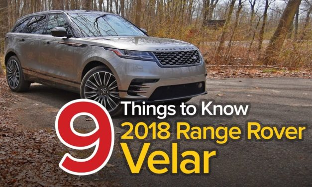 9 Things to Know About the 2018 Range Rover Velar: The Short List